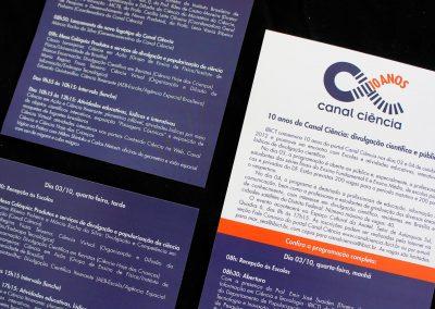 Campanha Canal Ciência 10 anos