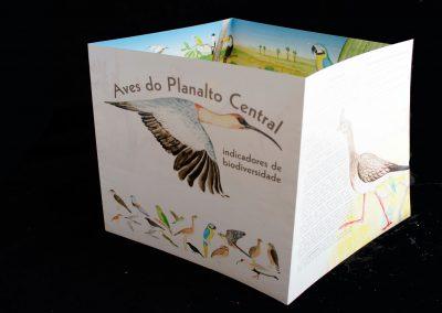 Folder Aves do Cerrado
