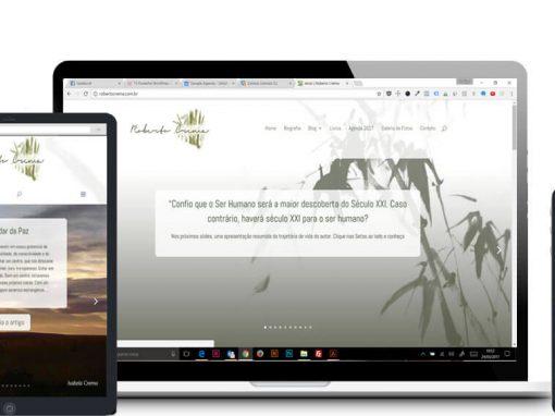 Criação de site para Roberto Crema