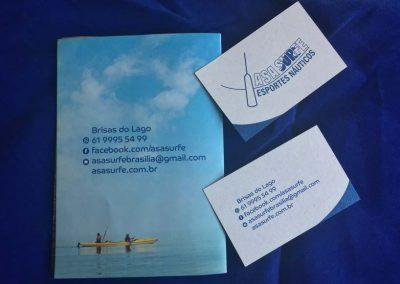 criação de cartão de folder brasília df