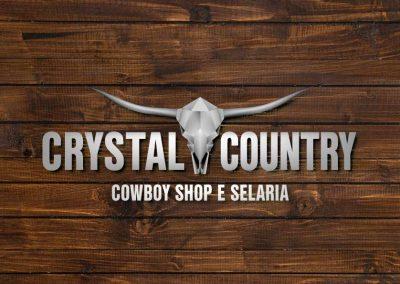 Identidade Visual loja Crystal Country
