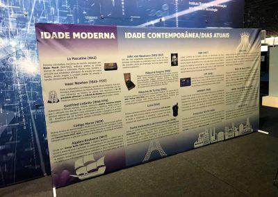 design gráfico painel brasília df