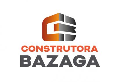 Logotipo Construtora Bazaga